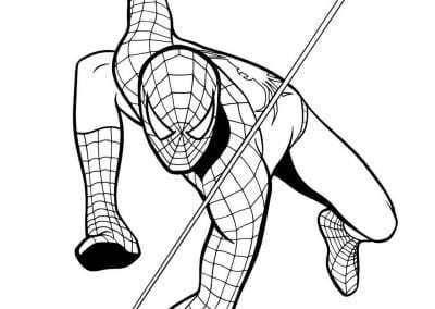 Spiderman 2 Stencil Book
